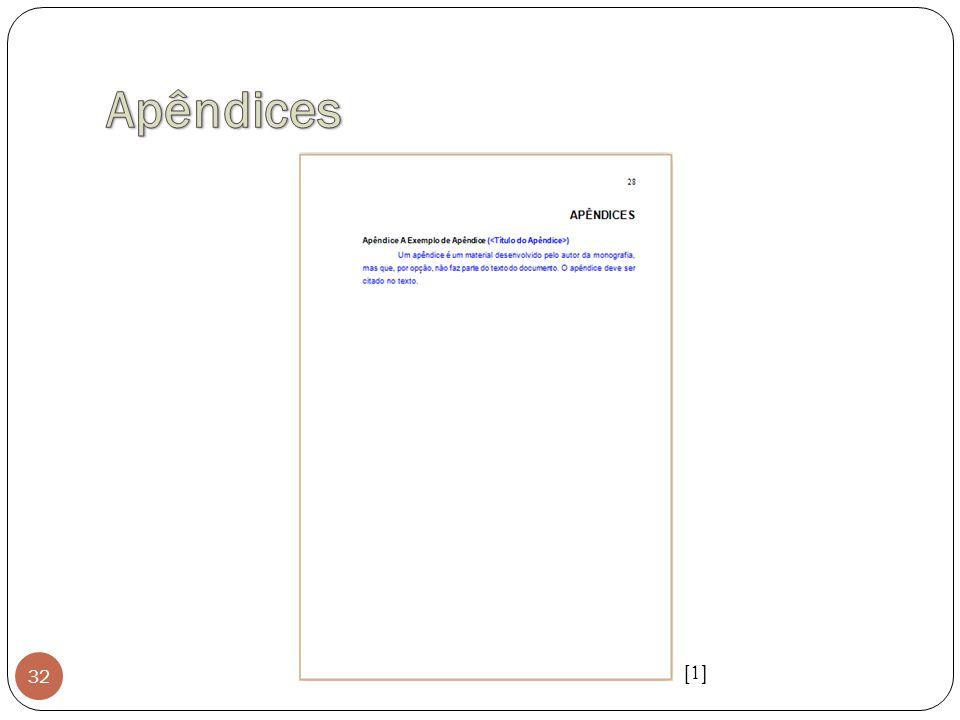 Apêndices [1]